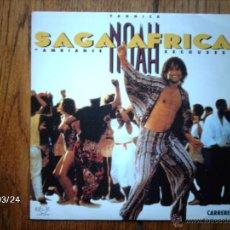Discos de vinilo: YANNICK NOAH - SAGA AFRICA + NIGHT OF BLUES . Lote 46870887