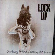 Discos de vinilo: LOCK UP – SOMETHING BITCHIN' THIS WAY COMES 7599-24279-1. Lote 46880489