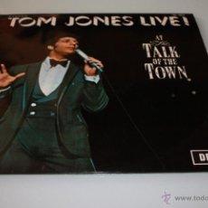 Discos de vinilo: TOM JONES LIVE ! AT THE TALK OF THE TOWN - LP - EDICIÓN ESPAÑOLA. Lote 46881773