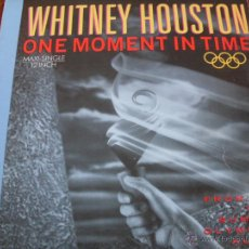 Discos de vinilo: WHITNEY HOUSTON - ONE MOMENT IN TIME. Lote 46888591