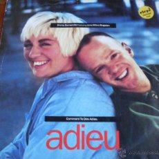 Discos de vinilo: JIMMY SOMERVILLE / JUNE MILES KINGSTON - ADIEU LONDON 1989 (EDICION ALEMANA). Lote 46888668