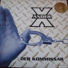 Discos de vinilo: ANDER X - DER KOMMISSAR. Lote 46888701