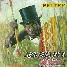 Discos de vinilo: DODO ESCOLA EP BELTER 1960 QUE PASA EN EL CONGO?/ TU TU TU/ LA NARANJA Y EL LIMON . Lote 46890668