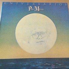 Discos de vinilo: PABLO MILANES ANIVERSARIOS LP. Lote 46900035