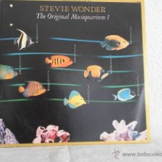 Discos de vinilo: STEVIE WONDER-LP DOBLE-THE ORIGINALMUSIQUARIUM-EDICION BRASILEÑA. Lote 46901264