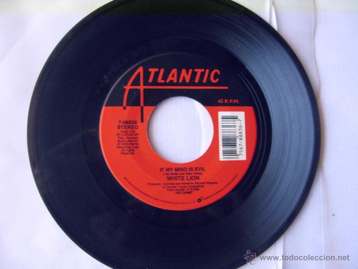 WHITE LION. IF MY MIND IS EVIL/RADAR LOVE. U.S.A. 1989. ATLANTIC 7-88836 (Música - Discos - Singles Vinilo - Pop - Rock Extranjero de los 90 a la actualidad)