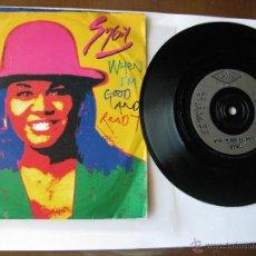 Discos de vinilo: SYBIL. WHEN I'M GOOD AND READY/ WHEN I'M GOOD AND READY(GOOD 'N' BUZZIN' EDIT) 1993. U.K. PWL260. Lote 46902958