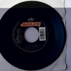 Discos de vinilo: RICHIE SAMBORA. ONE LIGHT BURNING/ RIVER OF LOVE. 1991 U.S.A. MERCURY 866 292-7. Lote 46903439