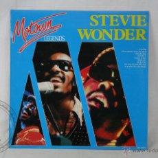 Discos de vinilo: DISCO LP VINILO - STEVIE WONDER. MOTOWN LEGENDS - MOTOWN RECORDS - ESPAÑA 1985. Lote 46906090