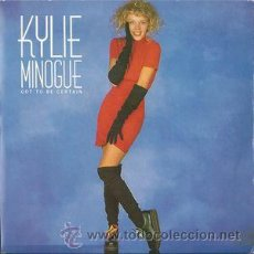 Dischi in vinile: KYLIE MINOGUE : GOT TO BE CERTAIN 12 MAXI SINGLE VINILO.. Lote 46906918