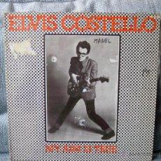 Discos de vinilo: ELVIS COSTELLO - MY AIM IS TRUE - FRANCIA 1977 STIFF RECORDS 940560. Lote 46908367