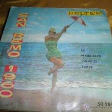 Discos de vinilo: SAN REMO 1960. ROMANTICA / LIBERO + 2. EP. BELTER. JIMMY FONTANA CON GIANNI FALLABRINO. Lote 46911299