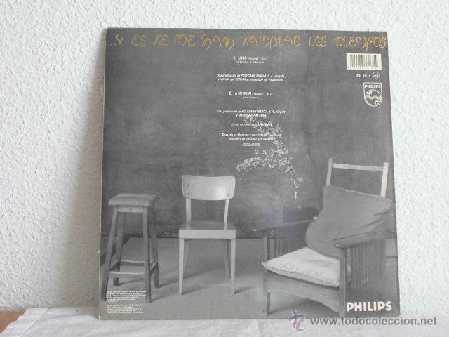 Discos de vinilo: KETAMA- LOCO-MAXI SINGLE - Foto 2 - 46911441
