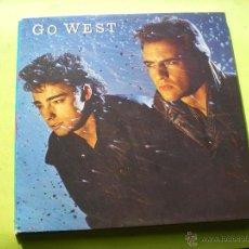 Discos de vinilo: GO WEST / GO WEST (LP CHRYSALIS 1985) CON ENCARTES PEPETO. Lote 137548588
