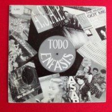 Discos de vinilo: TODO ENFASIS - MEGAMIX ( RECOPILATORIO). Lote 46916574