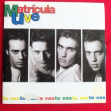 Discos de vinilo: MATRÍCULA UVE - TE VAS . Lote 46916739