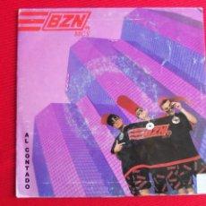 Discos de vinilo: BZN - AL CONTADO // SAMPLE ME, SCRATCH ME!. Lote 46917089
