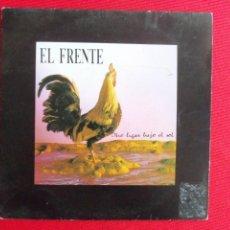 Discos de vinilo: EL FRENTE - OTRO LUGAR BAJO EL SOL // TOQUE DE QUEDA. Lote 46917310