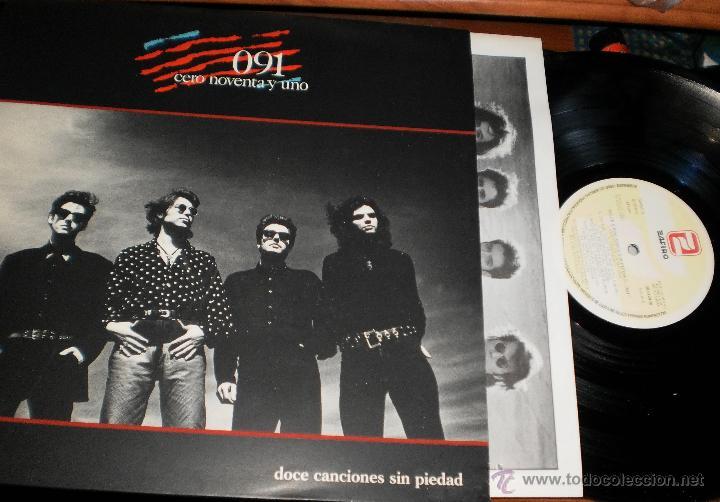 091 LP DOCE CANCIONES SIN PIEDAD.EN PERFECTO ESTADO.1989 (Música - Discos - LP Vinilo - Grupos Españoles de los 70 y 80)