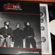 Discos de vinilo: 091 LP DOCE CANCIONES SIN PIEDAD.EN PERFECTO ESTADO.1989. Lote 46920367