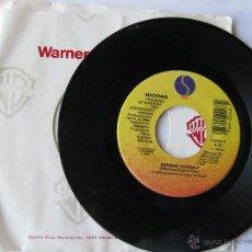 Discos de vinilo: MADONNA. EXPRESS YOURSELF/THE LOOK OF LOVE. 1989 SINGLE U.S.A. SIRE RECORDS 7-22948. Lote 46923485