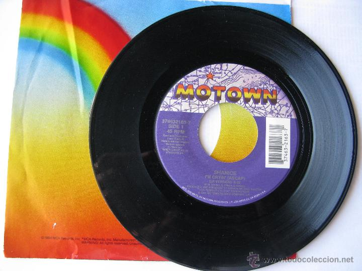 SHANICE. I'M CRYIN'/I LOVE YOUR SMILE. 1991 SINGLE U.S.A. MOTOWN RECORD COMPANY 374632163-7 (Música - Discos - Singles Vinilo - Pop - Rock Extranjero de los 90 a la actualidad)