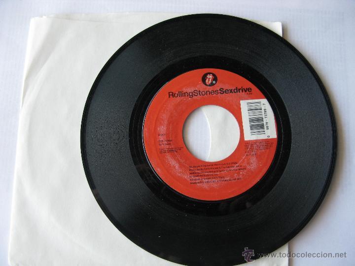ROLLING STONES. SEXDRIVE/UNDERCOVER OF THE NIGHT. 1991 SINGLE U.S.A. SONY MUSIC ZSS 73789 (Música - Discos - Singles Vinilo - Pop - Rock Extranjero de los 90 a la actualidad)