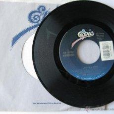 Discos de vinilo: REO SPEEDWAGON. LOVE IS A ROCK/GO FOR BROKE. 1990 SINGLE U.S.A. EPIC CBS RECORDS 34-73540. Lote 46923738