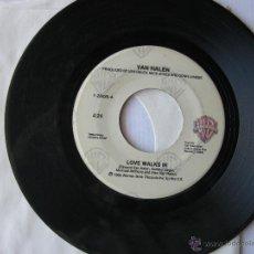 Discos de vinilo: VAN HALEN. LOVE WALKS IN/SUMMER NIGHTS. 1986 SINGLE U.S.A. WB RECORDS 7-28626. Lote 46923788