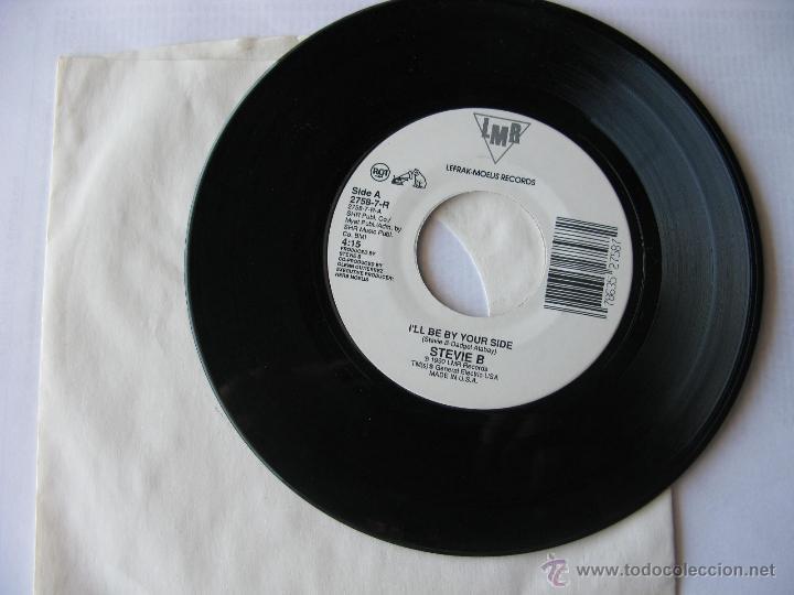 STEVIE B. I'LL BE BY YOUR SIDE/I'LI BE BY YOUR SIDE. 1990 SINGLE U.S.A. LMR RECORDS 2758-7-R (Música - Discos - Singles Vinilo - Pop - Rock Extranjero de los 90 a la actualidad)