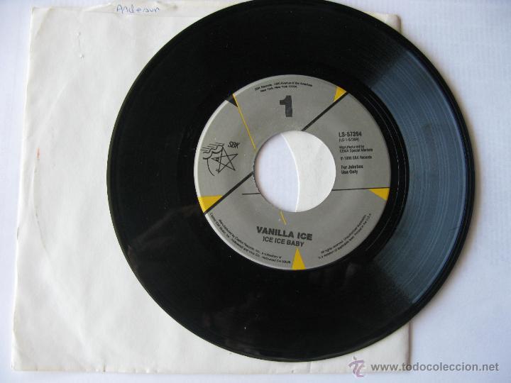 VAINILLA ICE. ICE ICE BABY/PLAY THAT FUNKY MUSIC. 1990 SINGLE U.S.A. SBK RECORDS LS-57394 (Música - Discos - Singles Vinilo - Pop - Rock Extranjero de los 90 a la actualidad)