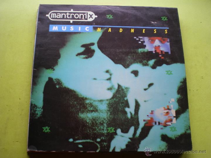 MANTRONIK MUSICAL MADNESS LP VIRGIN PEPETO (Música - Discos - LP Vinilo - Techno, Trance y House)