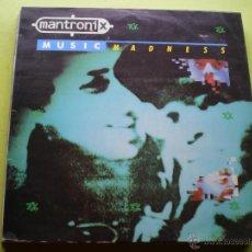 Disques de vinyle: MANTRONIK MUSICAL MADNESS LP VIRGIN PEPETO. Lote 46924390
