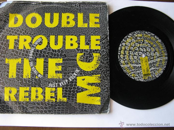 Discos de vinilo: DOUBLE TROUBLE + THE REBEL MC. Just Keep Rockin'(Hip House Mix)/Just Keep Rockin' 1989 DESIRE Want 9 - Foto 1 - 46924713