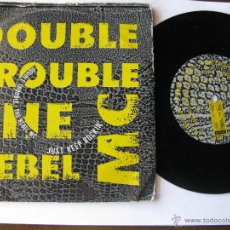 Discos de vinilo: DOUBLE TROUBLE + THE REBEL MC. JUST KEEP ROCKIN'(HIP HOUSE MIX)/JUST KEEP ROCKIN' 1989 DESIRE WANT 9. Lote 46924713