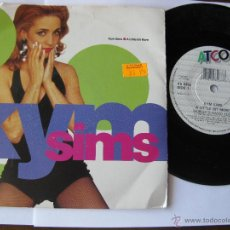 Discos de vinilo: KYM SIMS. A LITTLE BIT MORE (HURLEY'S RADIO EDIT)/(JOEY'S RADIO EDIT). SINGLE 1992 ATCO 7567-98528-7. Lote 46924928