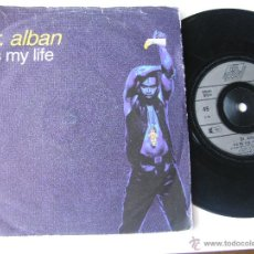 Discos de vinilo: DR. ALBAN. IT'S MY LIFE(RADIO EDIT)/IT'S MY LIFE(CLUB EDIT). SINGLE 1992 BMG ARIOLA 115 330. Lote 46925088