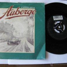 Discos de vinilo: CHRIS REA. AUBERGE/HUDSON'S DREAM. SINGLE 1991 MAGNET RECORDS LTD. YZ 555. Lote 46925116
