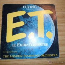 Discos de vinilo: FLYING (TEMA DE E.T.) SINGLE EDICIÓN ESPAÑOLA, 1983. Lote 46925394