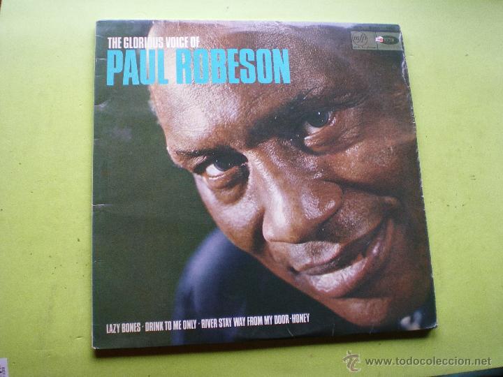 PAUL ROBESON - THE GLORIOUS VOICE OF... - EDICION U.K. - MFP / EMI PEPETO (Música - Discos - LP Vinilo - Jazz, Jazz-Rock, Blues y R&B)