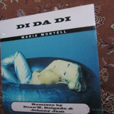 Discos de vinilo: MAXI-SINGLE DE VINILO DE MARIA MONTELL- TITULO DI DA DI-4 TEMAS- ORIGINAL DEL 97- ES DE DINAMARCA-. Lote 46926506