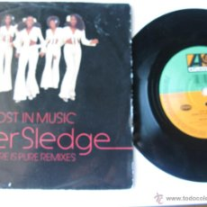 Dischi in vinile: SISTER SLEDGE. LOST IN MUSIC(SURE IS PURE REMIX EDIT)/(ORIGINAL VERSION). ATLANTIC.1993 8122-74509-7. Lote 46926949