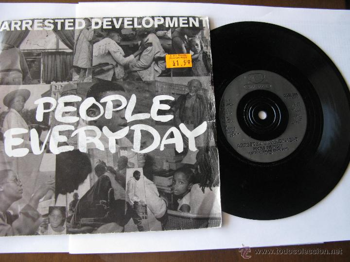 ARRESTED DEVELOPMENT. PEOPLE EVERIDAY(METAMORPHOSIS RADIO EDIT/RADIO VERSION)1992 COOLTEMPO COOL 286 (Música - Discos - Singles Vinilo - Pop - Rock Extranjero de los 90 a la actualidad)