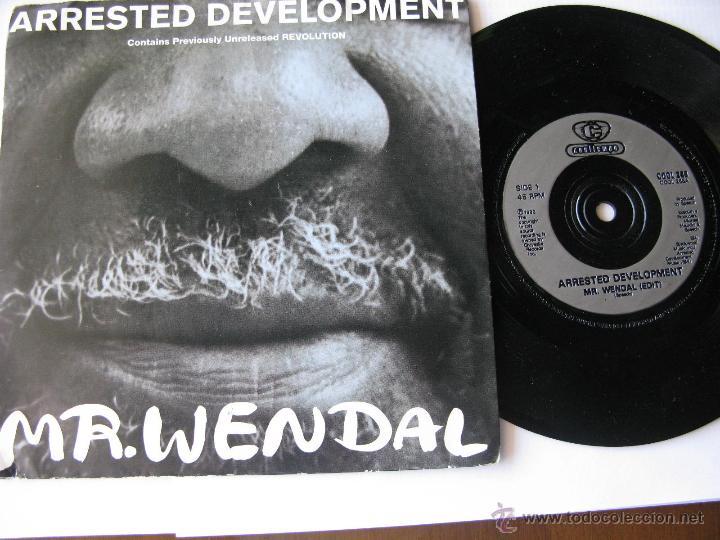 ARRESTED DEVELOPMENT. MR. WENDAL(EDIT)/REVOLUTION. 1992 SINGLE COOLTEMPO COOL 268 (Música - Discos - Singles Vinilo - Pop - Rock Extranjero de los 90 a la actualidad)