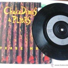Discos de vinilo: CHAKA DEMUS & PLIERS. TEASE ME/FRIDAY EVENING. 1993 SINGLE U.K. BLUE MOUNTAIN MUSIC MNG 806. Lote 46927362