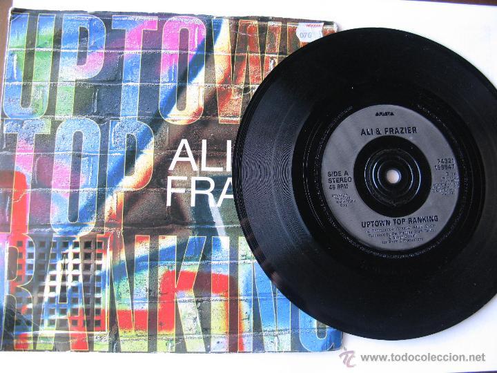 ALI & FRAZIER. UPTOWN TOP RANKING/BOOYAKA. 1993 SINGLE U.K.. ARISTA 74321 158847 (Música - Discos - Singles Vinilo - Pop - Rock Extranjero de los 90 a la actualidad)