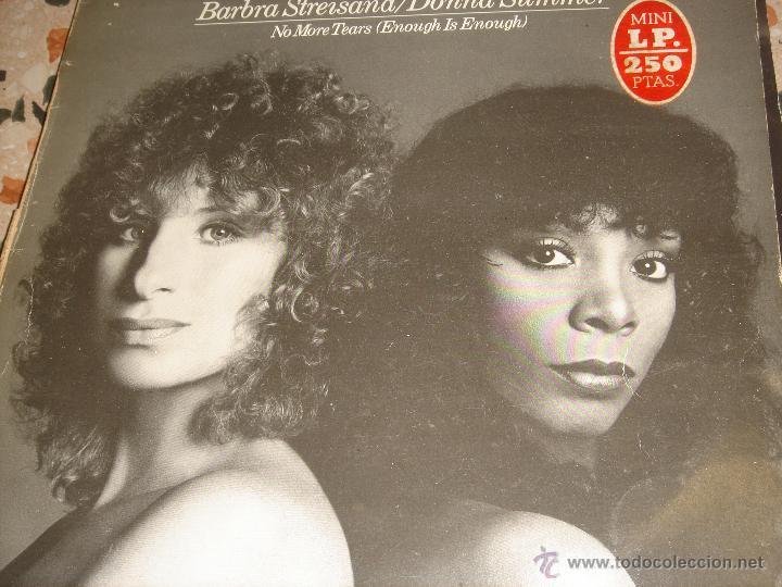 BARBARA STRAYSAND Y DONNA SUMMER (Música - Discos de Vinilo - EPs - Pop - Rock Extranjero de los 70)