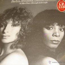 Discos de vinilo: BARBARA STRAYSAND Y DONNA SUMMER. Lote 46927928