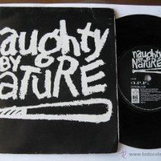 Discos de vinilo: NAUGHTY BY NATURE. O.P.P.(VOCAL)/WICKEDEST MAN ALIVE(VOCAL) 1991 SINGLE U.K. BIG LIFE BLR 62. Lote 46927942