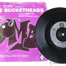Discos de vinilo: KENNY DOPE PRESENTS THE BUCKETHEADS. THESE SOUNDS FALL INTO MY MIND. (THE BOMB) 1995 POSITIVA TIV 33. Lote 46928019